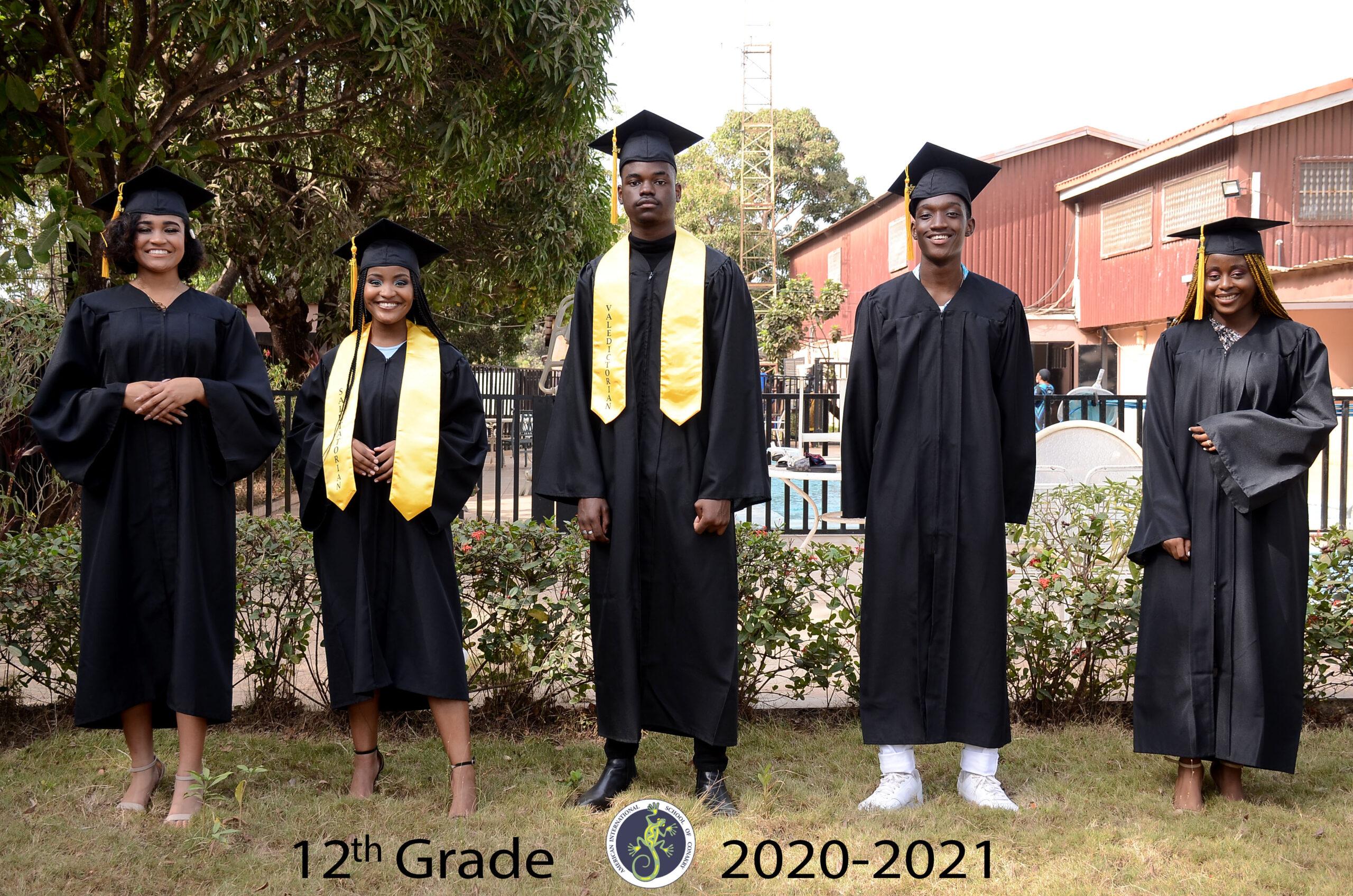 12th Grade - 2020/2021